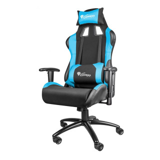 Natec Genesis NITRO 550 Gamer szék Fekete-Kék (NFG-0783) PC
