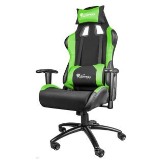 Natec Genesis NITRO 550 Gamer szék Fekete-Zöld (NFG-0907) PC