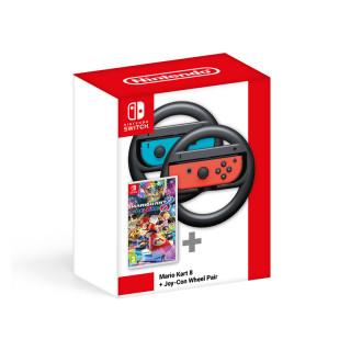 Mario Kart 8 Deluxe + Joy-Con Wheel kormány-tok pár