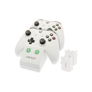 Venom VS2859 Xbox One fehér töltőállomás + 2db akkumulátor