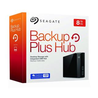 Seagate Backup Plus Hub 3.5'' külső merevlemez, 8TB USB3.0, fekete (STEL8000200) PC