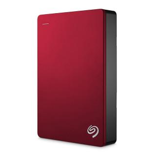 Seagate Backup Plus 2,5'' külső merevlemez, 4TB USB 3.0, piros (STDR4000902) PC