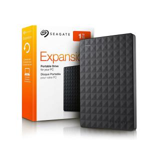 Seagate Expansion 2.5'' külső merevlemez, 1TB, USB 3.0, fekete (STEA1000400) PC