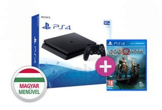 PlayStation 4 (PS4) Slim 500GB + God of War (2018) PS4