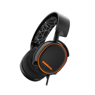 SteelSeries Arctis 5 (Fekete) headset PC