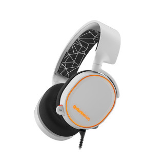 SteelSeries Arctis 5 (Fehér) headset PC