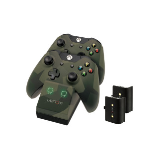 Venom VS2857 Xbox One camouflage töltőállomás + 2db akkumulátor