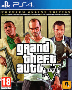 Grand Theft Auto V Premium Online Edition (GTA 5) PS4