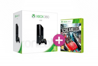 Xbox 360 E 4GB + Screamride XBOX 360