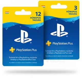 PlayStation Plus 12 hónapos előfizetés + ajándék 3 hónap (PSN Plus) (DIGITÁLIS) PS4