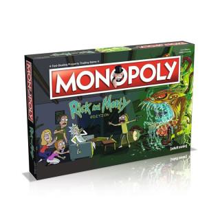 Monopoly Rick and Morty Edition (Angol nyelvű) AJÁNDÉKTÁRGY