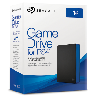 Seagate Game Drive for PS4 1TB - Fekete (STGD1000100) PS4