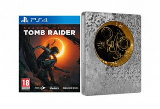 Shadow of the Tomb Raider Steelbook Edition PS4