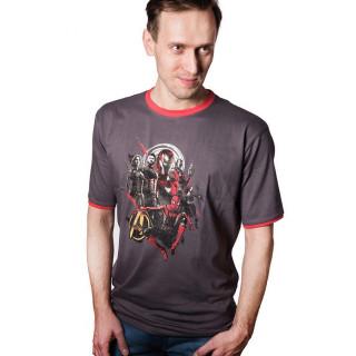 Marvel Infinity War Avengers - Póló - Good Loot - (L-es méret) AJÁNDÉKTÁRGY