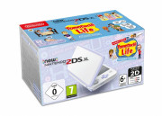 New Nintendo 2DS XL (White & Levendula) + Tomodachi Life 3 DS