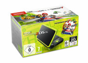 New Nintendo 2DS XL (Black & Lime Green) + Mario Kart 7 3 DS