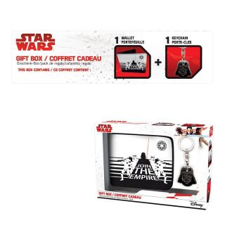 STAR WARS - Pénztárca + Kulcstartó - Darth Vader