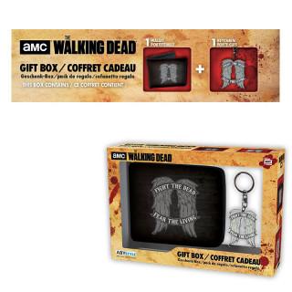 THE WALKING DEAD - Pénztárca + Kulcstartó - Daryl wings