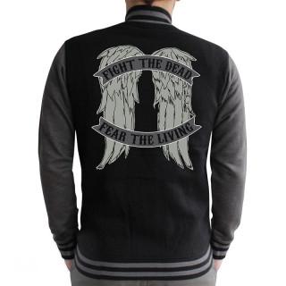 THE WALKING DEAD - Baseball Dzseki - Angel Wings (XL-es méret)