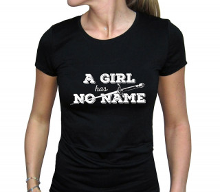 GAME OF THRONES - Női Póló - A Girl Has No Name (XL-es méret)