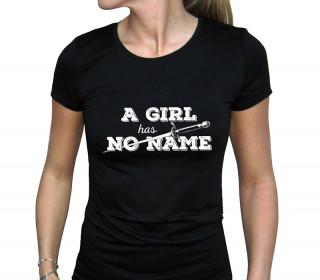 GAME OF THRONES - Női Póló - A Girl Has No Name (L-es méret)