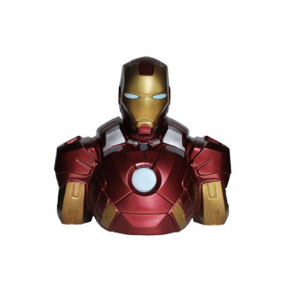 IRON MAN - Persely mellszobor - Iron Man (22cm)