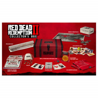 Red Dead Redemption 2 Collector's Box AJÁNDÉKTÁRGY