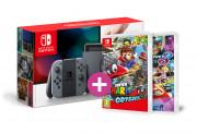 Nintendo Switch + Mario Kart 8 + Super Mario Odyssey Switch