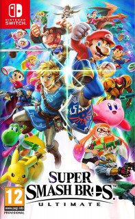 Super Smash Bros. Ultimate (használt) Switch