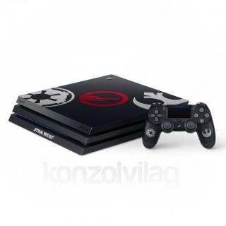 PlayStation 4 Pro 1TB Star Wars Battlefront II (Limitált Kiadás, játék nélkül) (használt) PS4