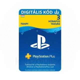 PlayStation®Plus: 3 hónapos (PSN Plus) (DIGITÁLIS) - 25% kedvezmény - ESD HUN (Letölthető)
