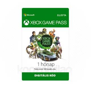 Microsoft XBOX Game Pass digitális kód (Letölthető)