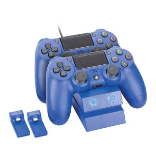 Venom VS2738 Twin Docking Station PS4 kék Wave Blue töltőállomás PS4