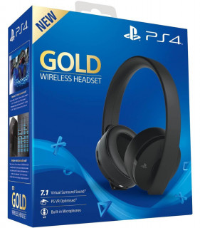 Sony PlayStation Gold Wireless Headset (7.1) MULTI