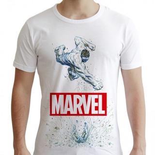 MARVEL - Póló - Marvel Hulk - fehér (S-es méret)