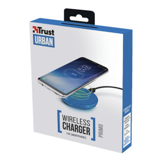 Trust 22817 Primo Vezeték nélküli okostelefon töltő (Kék)