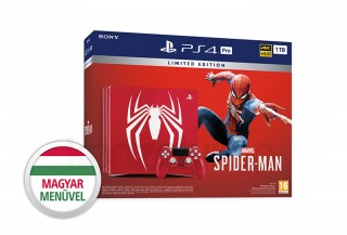 PlayStation 4 Pro (PS4) 1TB Limited Edition + Spider-Man