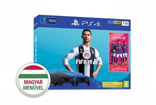 PlayStation 4 (PS4) Slim 1TB + FIFA 19 + DualShock 4 kontroller