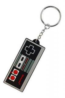 Nintendo - Gumi kulcstartó - NES kontroller (7 cm)
