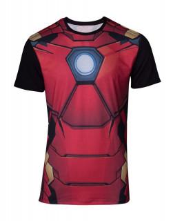 Marvel - Szublimációs póló - Iron Man (L-es méret) Ajándéktárgyak