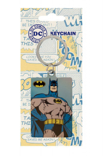 DC Comics - Fém kulcstartó - Batman (6 cm)