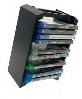 Venom VS3053 PS3, PS4, Xbox One, Blu-ray 12 db-os tartó állvány