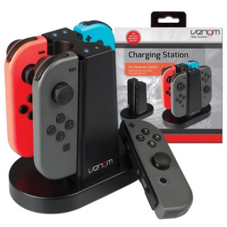 VENOM VS4796 Charging Station Nintendo Switch Joy-Con kontrollerhez
