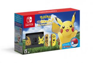 Nintendo Switch + Pokémon Let's Go Pikachu!