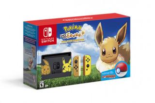 Nintendo Switch + Pokémon Let's Go Eevee!