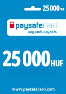 Paysafe 25 000 HUF