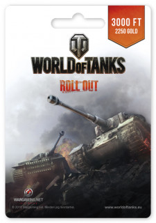 World of Tanks 2250 Gold PC