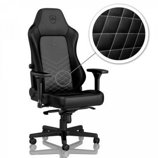 Noblechairs HERO Fekete/Platinafehér Gamer szék PC
