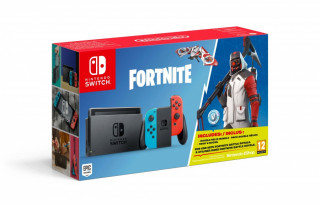 Nintendo Switch + Fortnite bónusz tartalom Switch