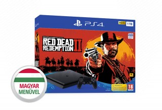 PlayStation 4 (PS4) Slim 1TB + Red Dead Redemption 2